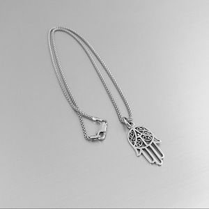 ✋✋NEW✋✋ Sterling Silver Hand of Fatima Necklace